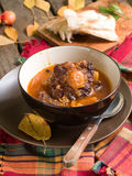 Beef ragout (osso bucco) Royalty Free Stock Photography