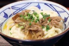 Beef ramen noodles Stock Images
