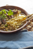 Beef Ramen Soup Royalty Free Stock Images
