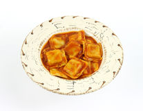 Beef ravioli Royalty Free Stock Photos