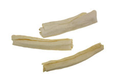 Beef Rawhide Rolls Group Stock Images