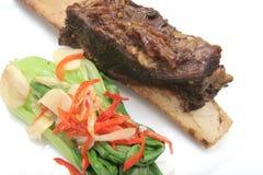 Beef rib stock image
