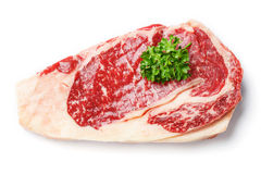 Beef rib eye steak Royalty Free Stock Photo