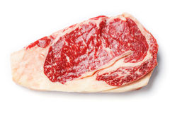 Beef rib eye steak Royalty Free Stock Photography