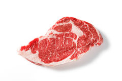 Beef rib eye steak Royalty Free Stock Images
