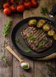 Beef rib eye steak Royalty Free Stock Photo