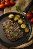 Beef rib eye steak Stock Photo
