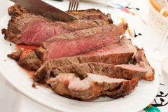 Beef rib sliced Royalty Free Stock Photos