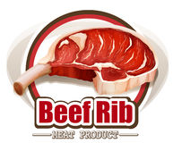 Beef rib Royalty Free Stock Images