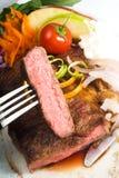 Beef ribeye steak Stock Photos