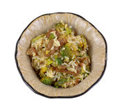 Beef Rice Broccoli Meal Dish Royalty Free Stock Images