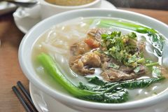 Beef rice noodle Royalty Free Stock Images
