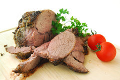 Beef roast Stock Image