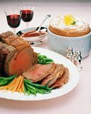 Beef Roast Royalty Free Stock Photos