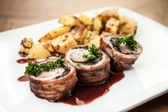 Beef rolls Royalty Free Stock Photography