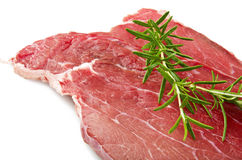 Beef with rosemary Royalty Free Stock Photos
