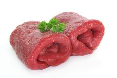Beef roulade Royalty Free Stock Photos