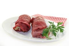 Beef roulade Royalty Free Stock Image