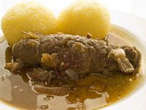 Beef roulade Stock Images