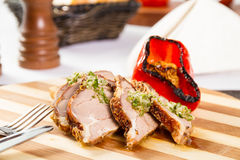 Beef roulade Royalty Free Stock Photography