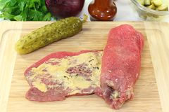 Beef roulade Royalty Free Stock Photo
