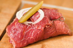 Beef roulades Royalty Free Stock Images