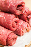 Beef roulades Royalty Free Stock Photography