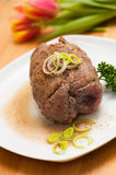 Beef roulades Royalty Free Stock Photos