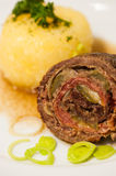 Beef roulades Royalty Free Stock Image
