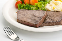 Beef Round Steak Royalty Free Stock Photos
