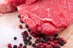 Beef rump steak Royalty Free Stock Image