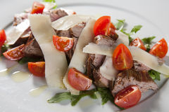 Beef salad Royalty Free Stock Photos