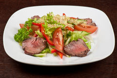 Beef salad Royalty Free Stock Images