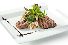 Beef Salad Stock Image