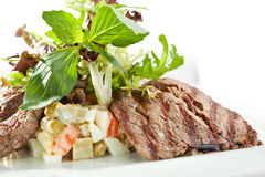 Beef Salad Stock Image