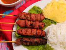 Beef salad Vietnam style Stock Photography