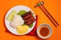 Beef salad Vietnam style Stock Images