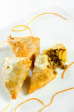 Beef samosa Stock Photos