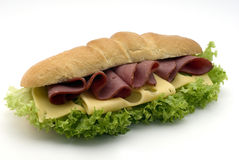 Beef sandwich Royalty Free Stock Images