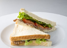 Beef sandwich Stock Photo