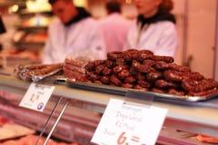 Beef sausage Stock Photo