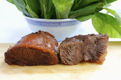 Beef section Stock Images
