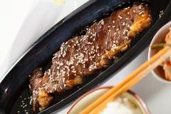 Beef sesame Stock Photo