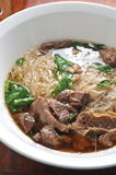Beef Shank vermicelli Stock Photo