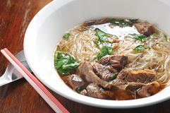 Beef Shank vermicelli Royalty Free Stock Images