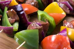 Beef Shishkabobs 7 Royalty Free Stock Photos