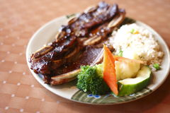 Beef short ribs Royalty Free Stock Photography