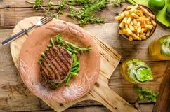 Beef sirloin steak Royalty Free Stock Photo