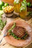 Beef sirloin steak Stock Photography
