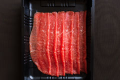 Beef with sirloin Royalty Free Stock Photos